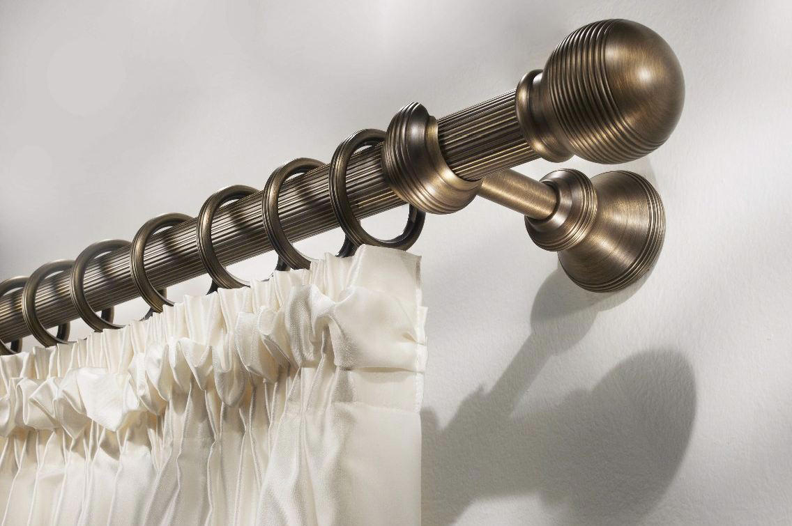 Гардина в классическом стиле для штор