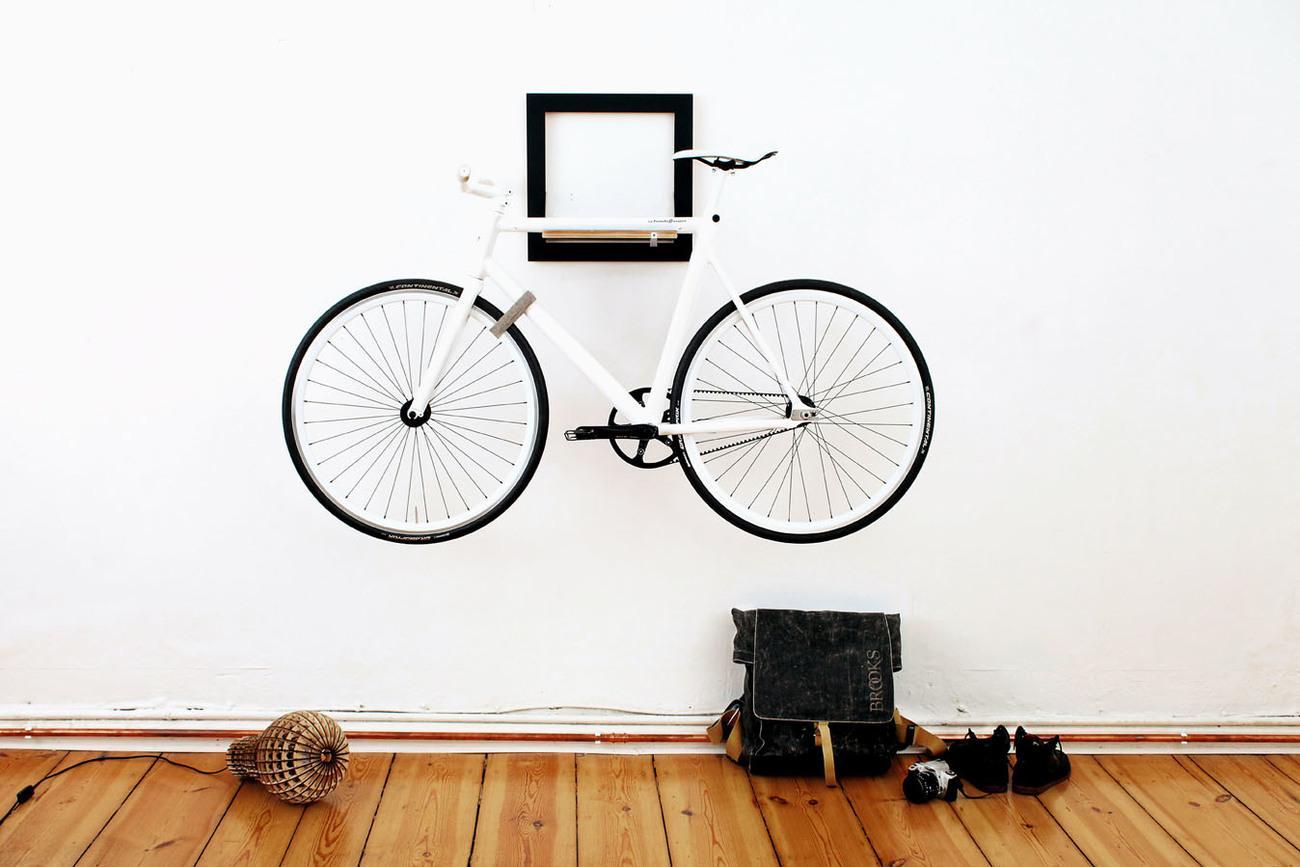 Велосипед в декоре дома