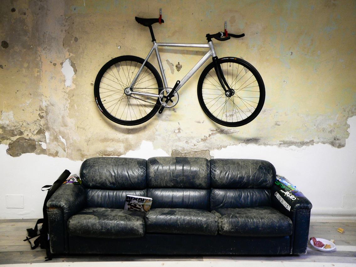Велосипед как декоративный элемент