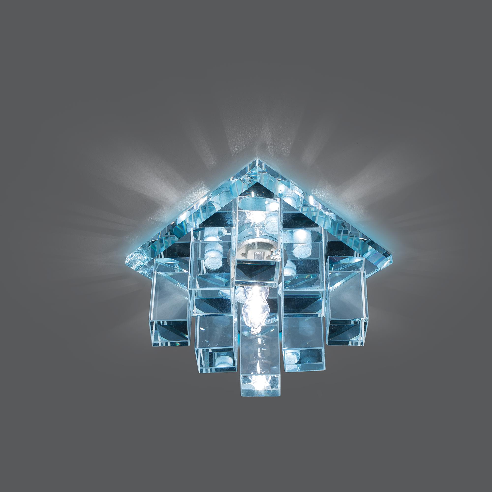 Точечные светильники с декором