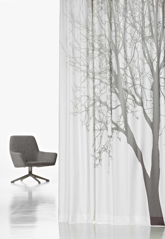Фотопринт дерево на шторах