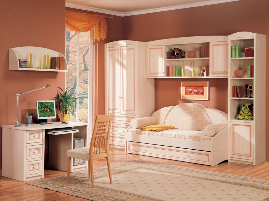 Размещение мебели в спальне