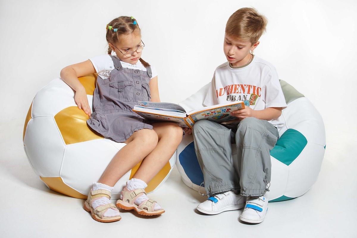 Бескаркасная детская мебель