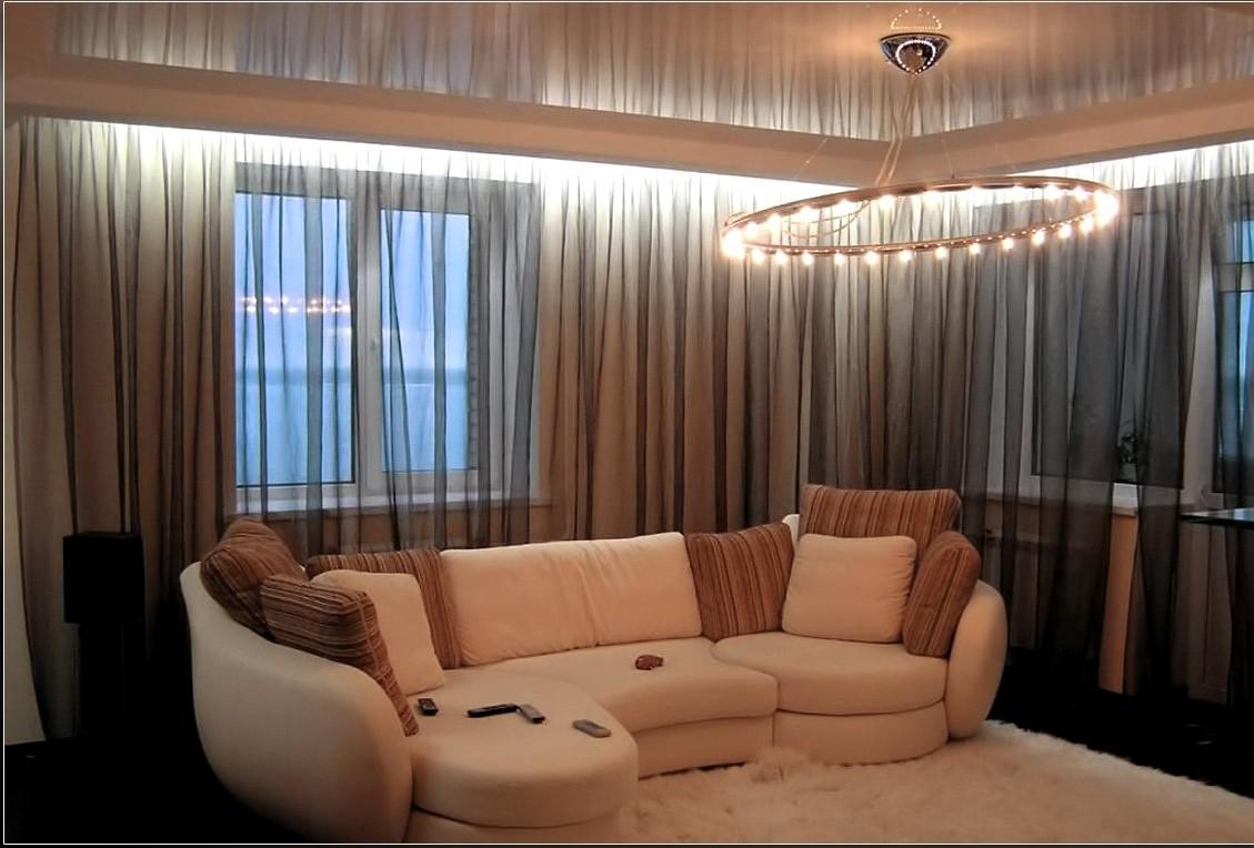 Подсветка окна светодиодной лентой