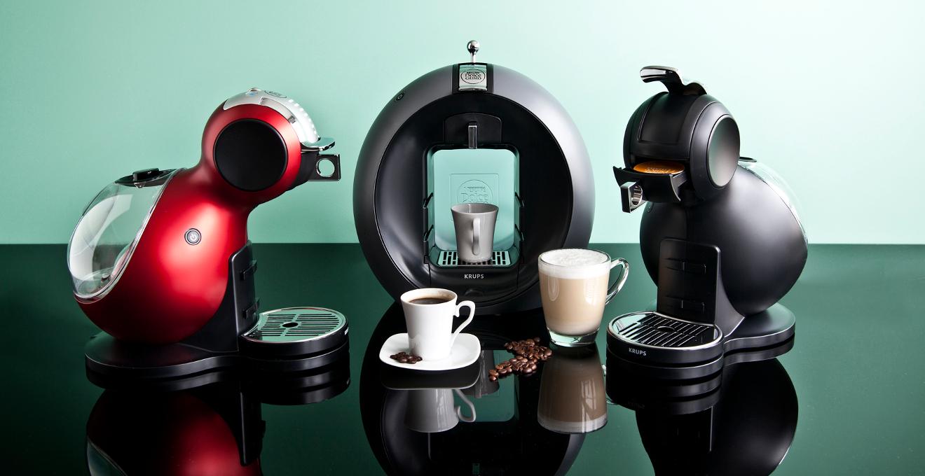 Кофемашина в оригинальном дизайне