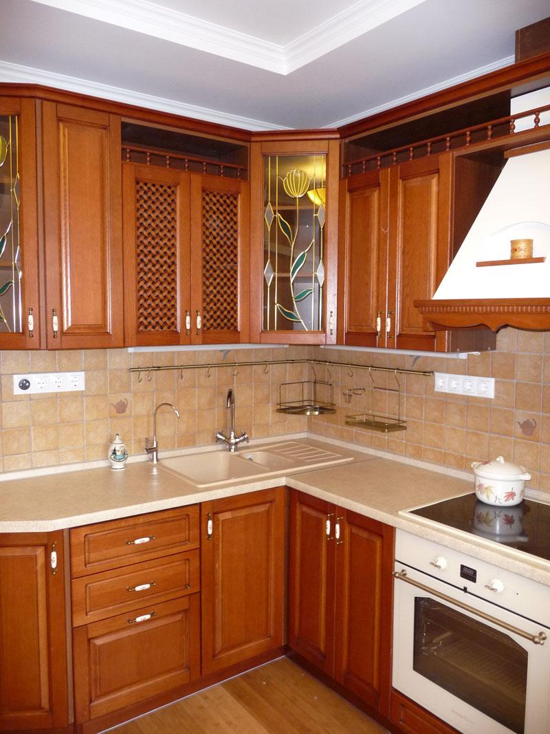 Дубовый кухонный гарнитур