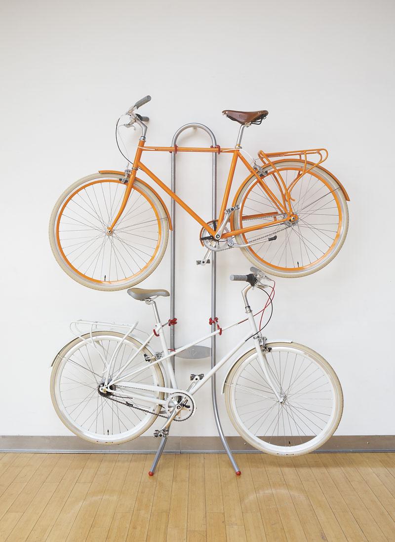 Стойка для хранения велосипедов в квартире
