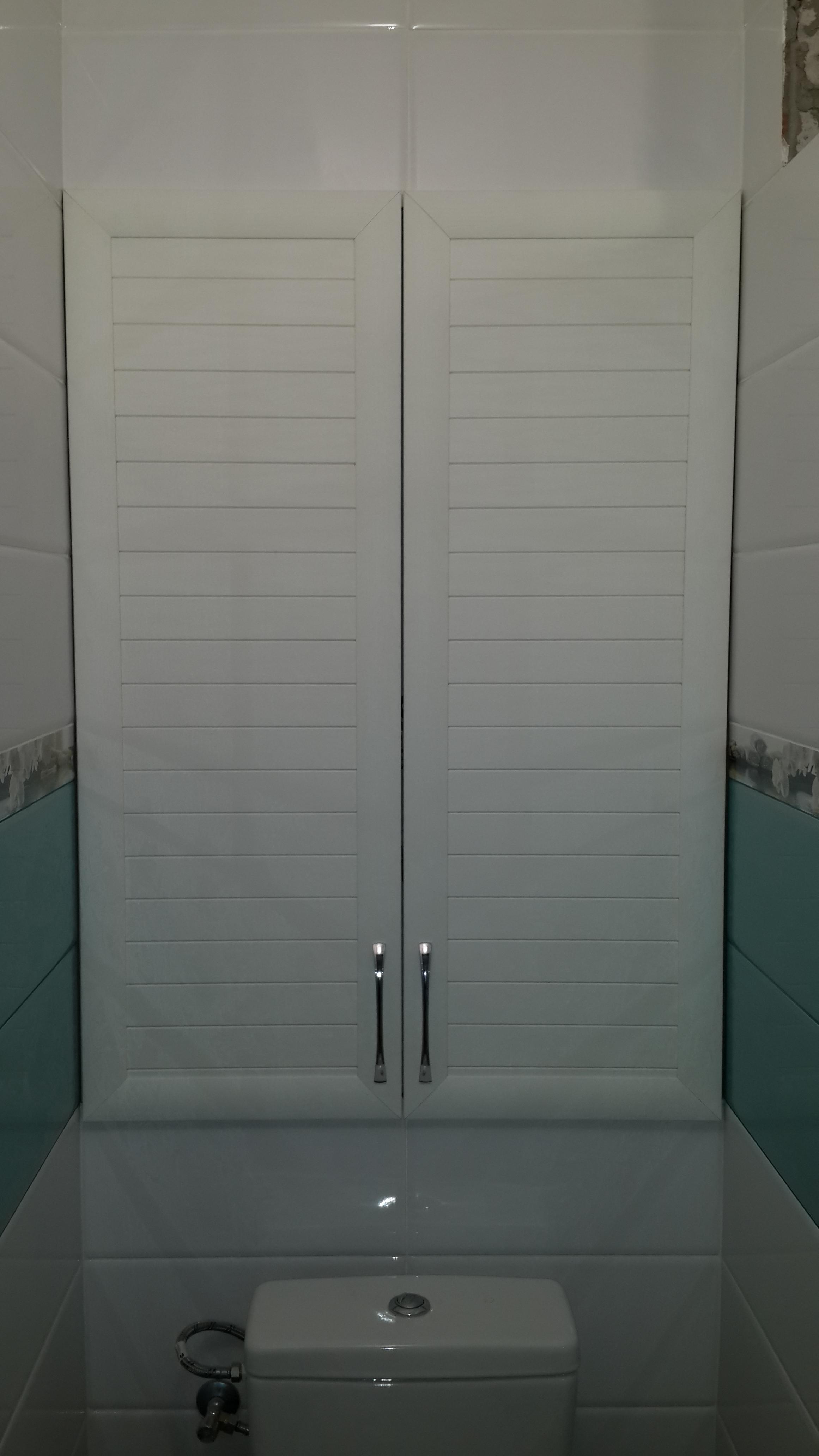 Дверки в туалете