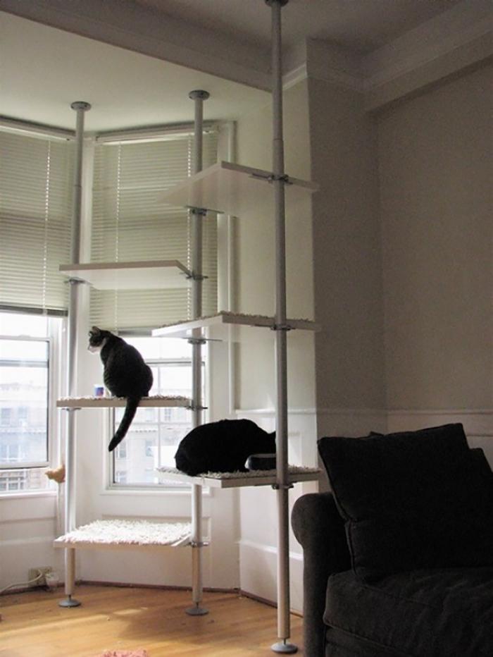 Гамак этажерка для кошки