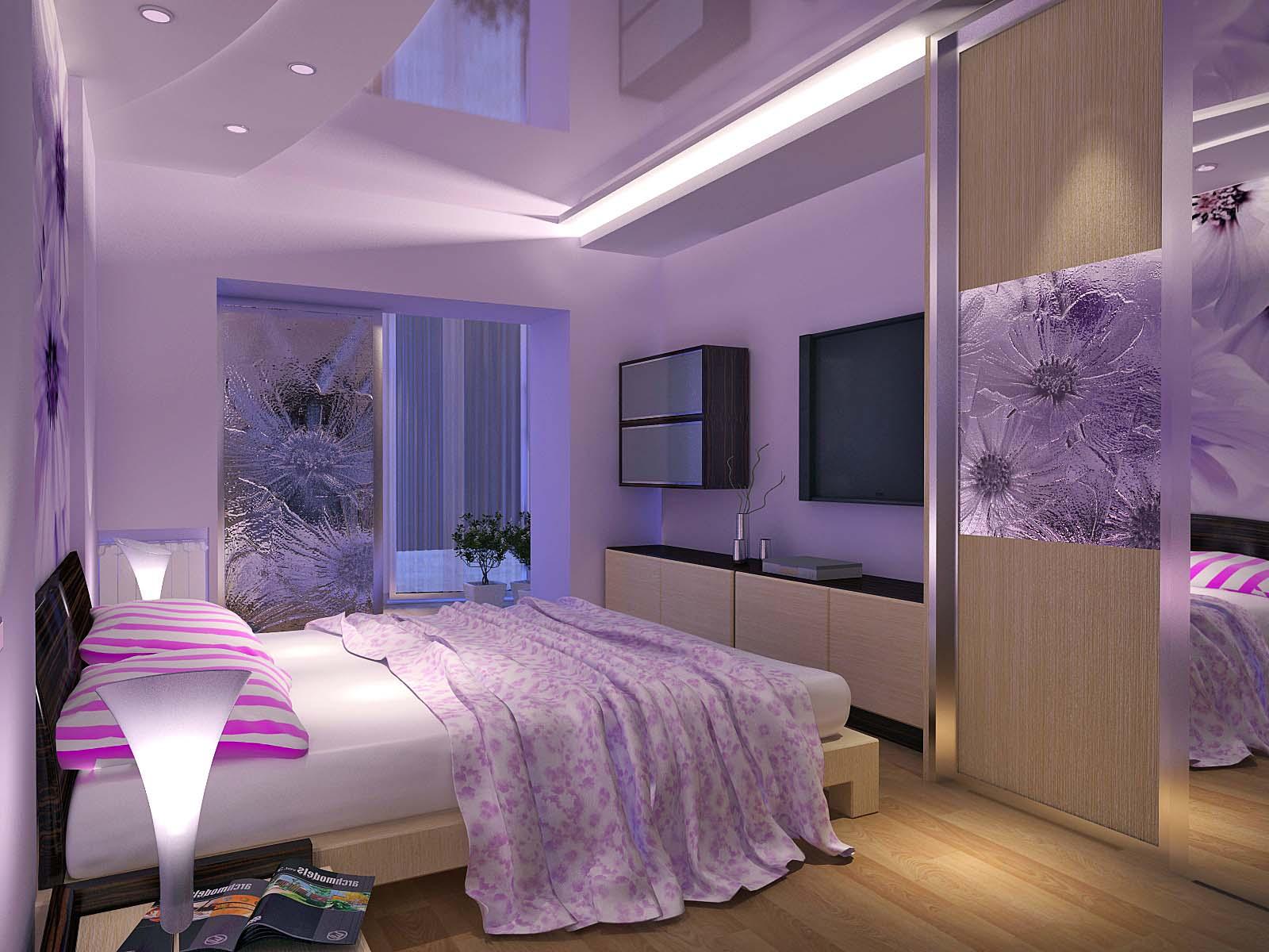 Размещение мебели в спальне по фэн-шуй
