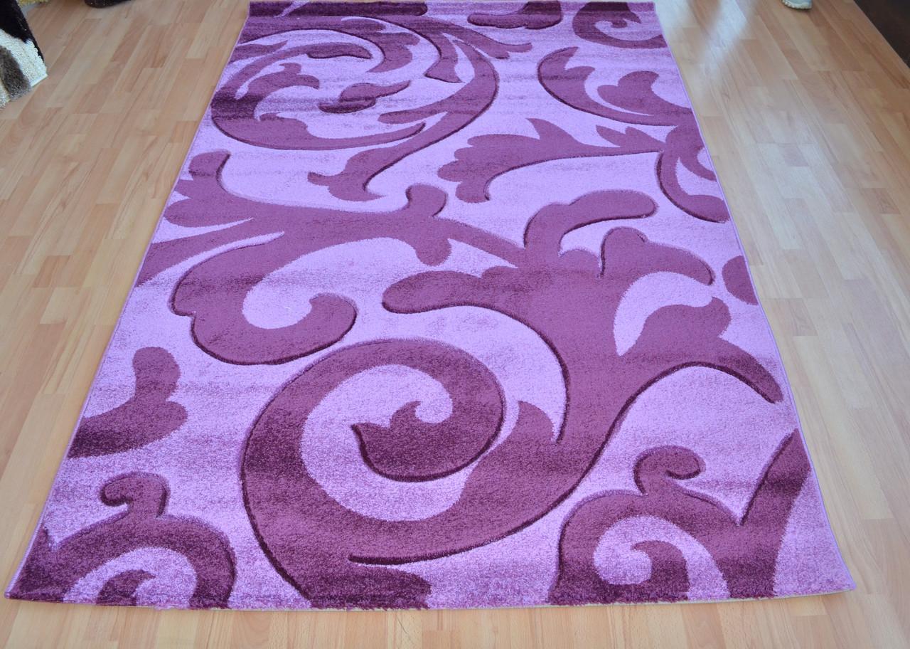 Фиолетовый ковер с подогревом