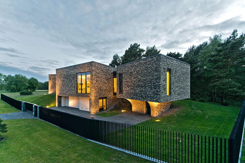 Футуристическая архитектура дома