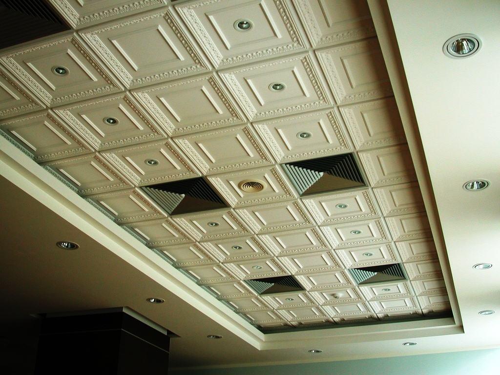 Потолочная плитка из пенопласта