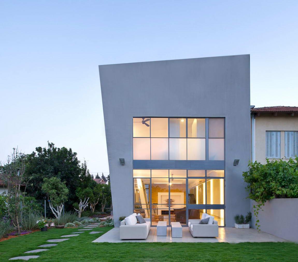 Архитектура дома в стиле хай-тек