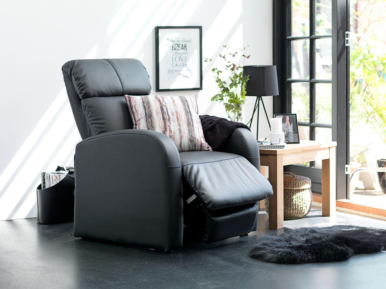 Кресло реклайнер в интерьере