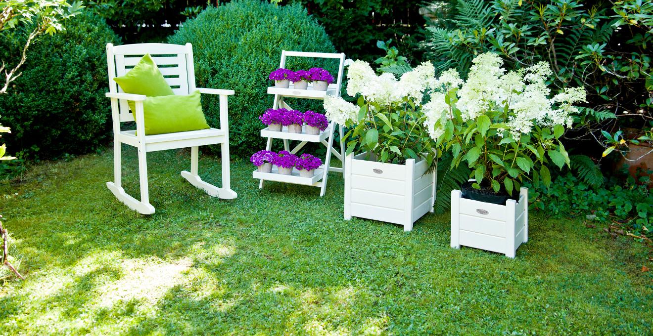 Кадки для цветов из дерева