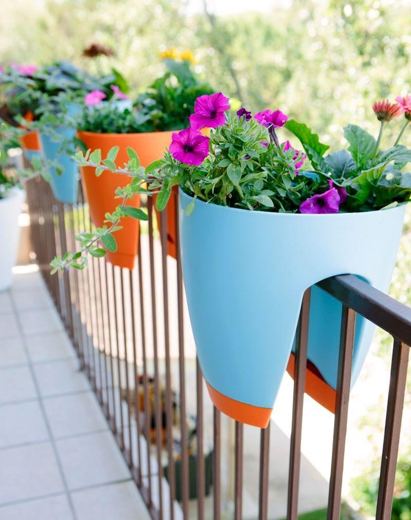 Балконные кашпо для цветов