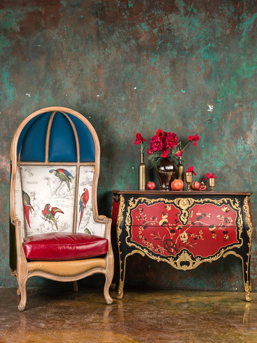 Кресло-трон в китайском стиле