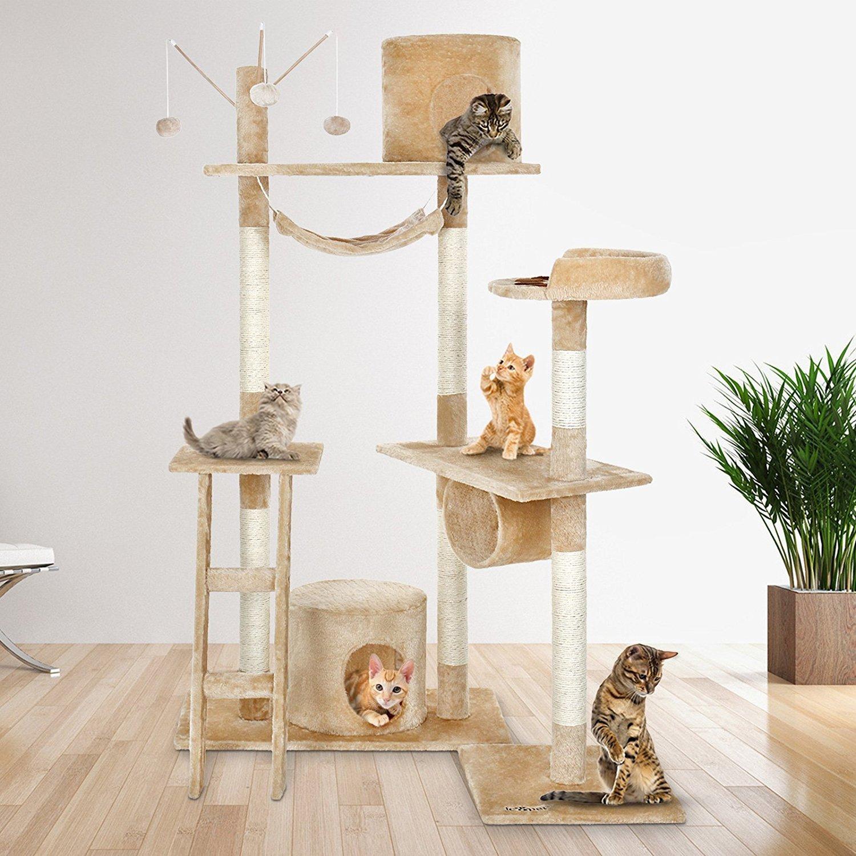 Гамак для кошки с когтеточкой