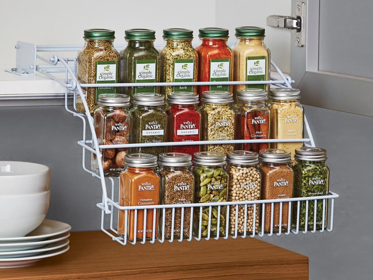 Хранение специй на кухне: идеи и рекомендации (25 фото)