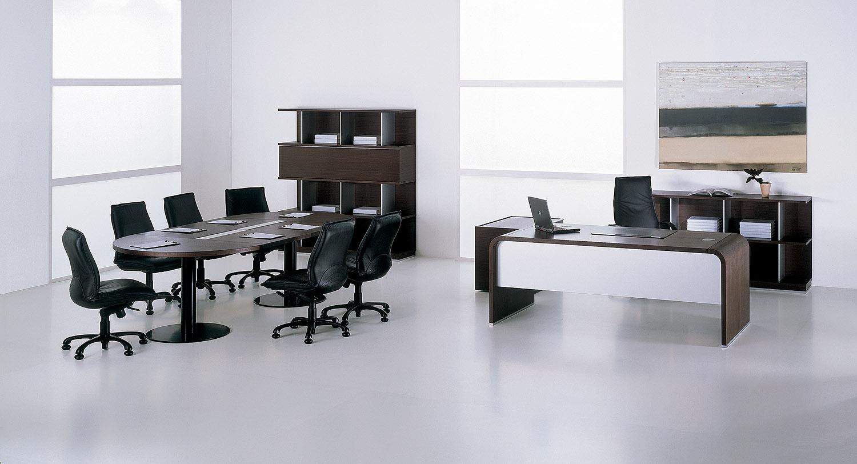 Контрастные цвета в дизайне кабинета