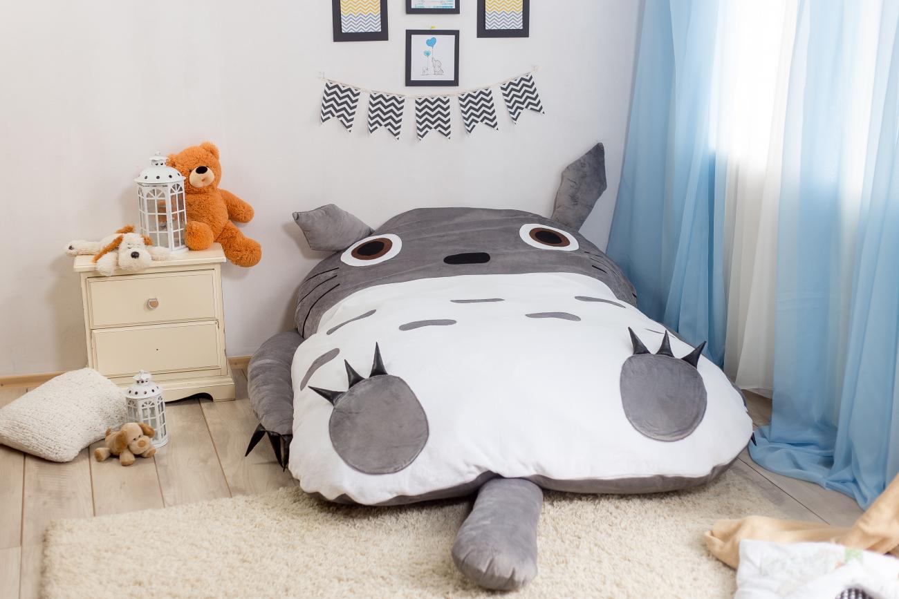 """Бескаркасная кровать """"Тоторо"""""""