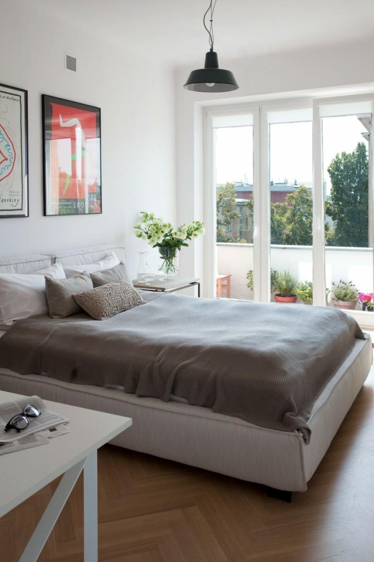 Расстановка кровати в спальне