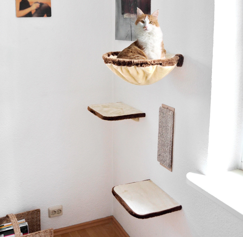 Гамак для кошки круглый