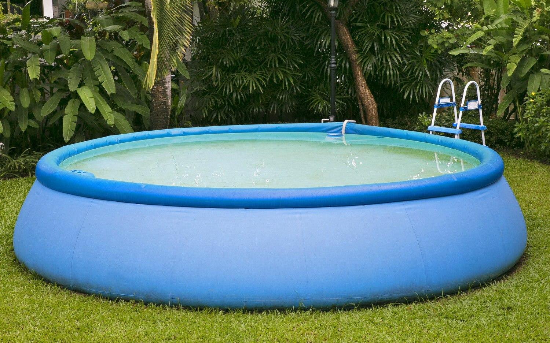 Надувной бассейн круглой формы