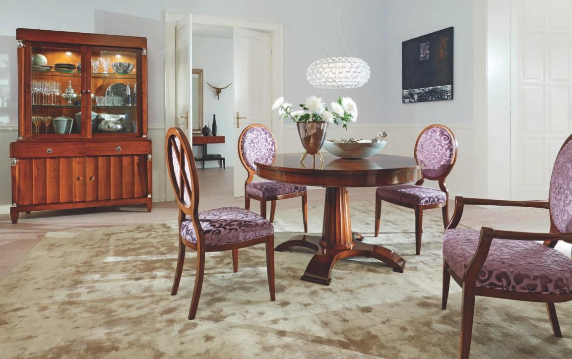 Столовый гарнитур с круглым столом