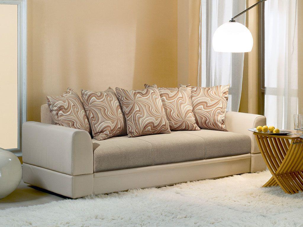 Льняная обивка дивана