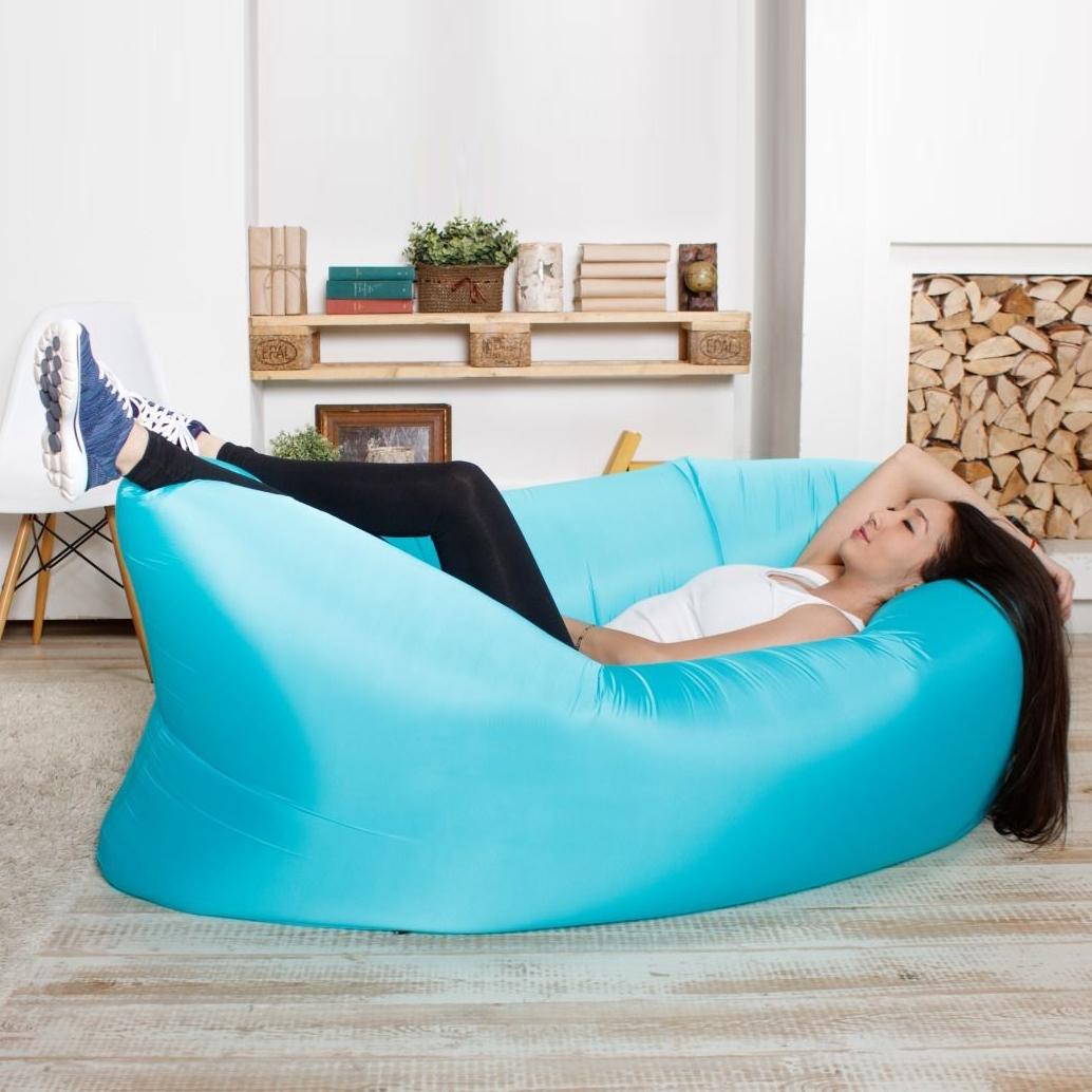 Надувное кресло-лежак