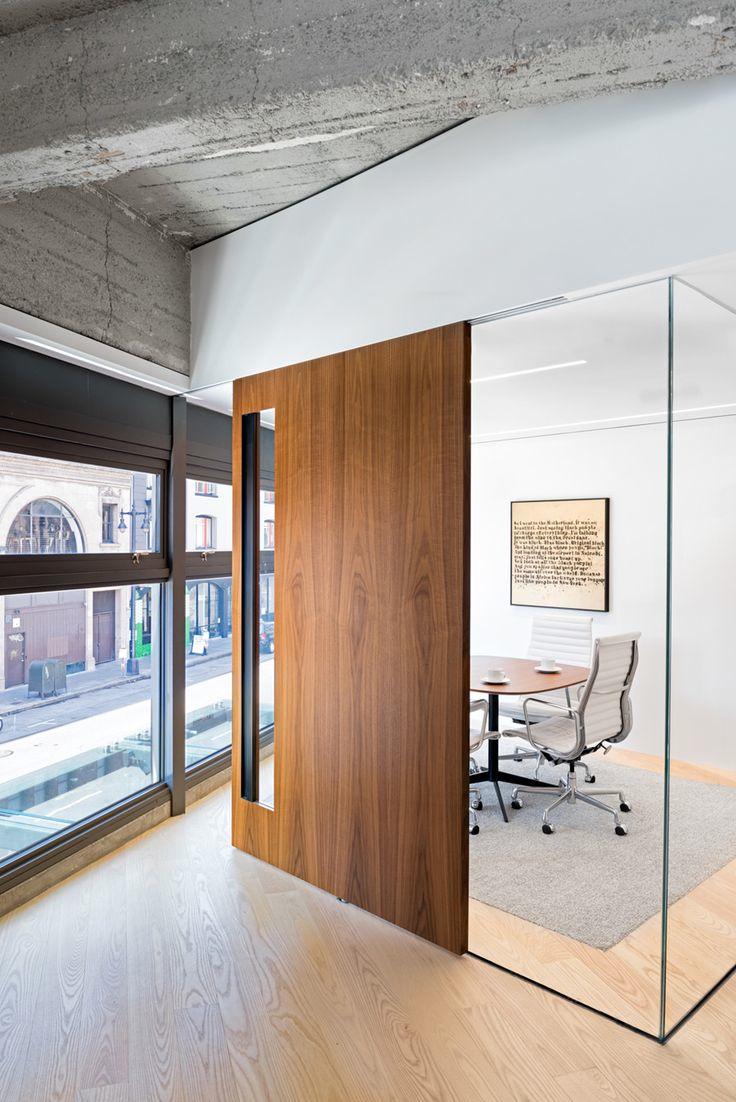 Дизайн интерьера кабинета руководителя лофт