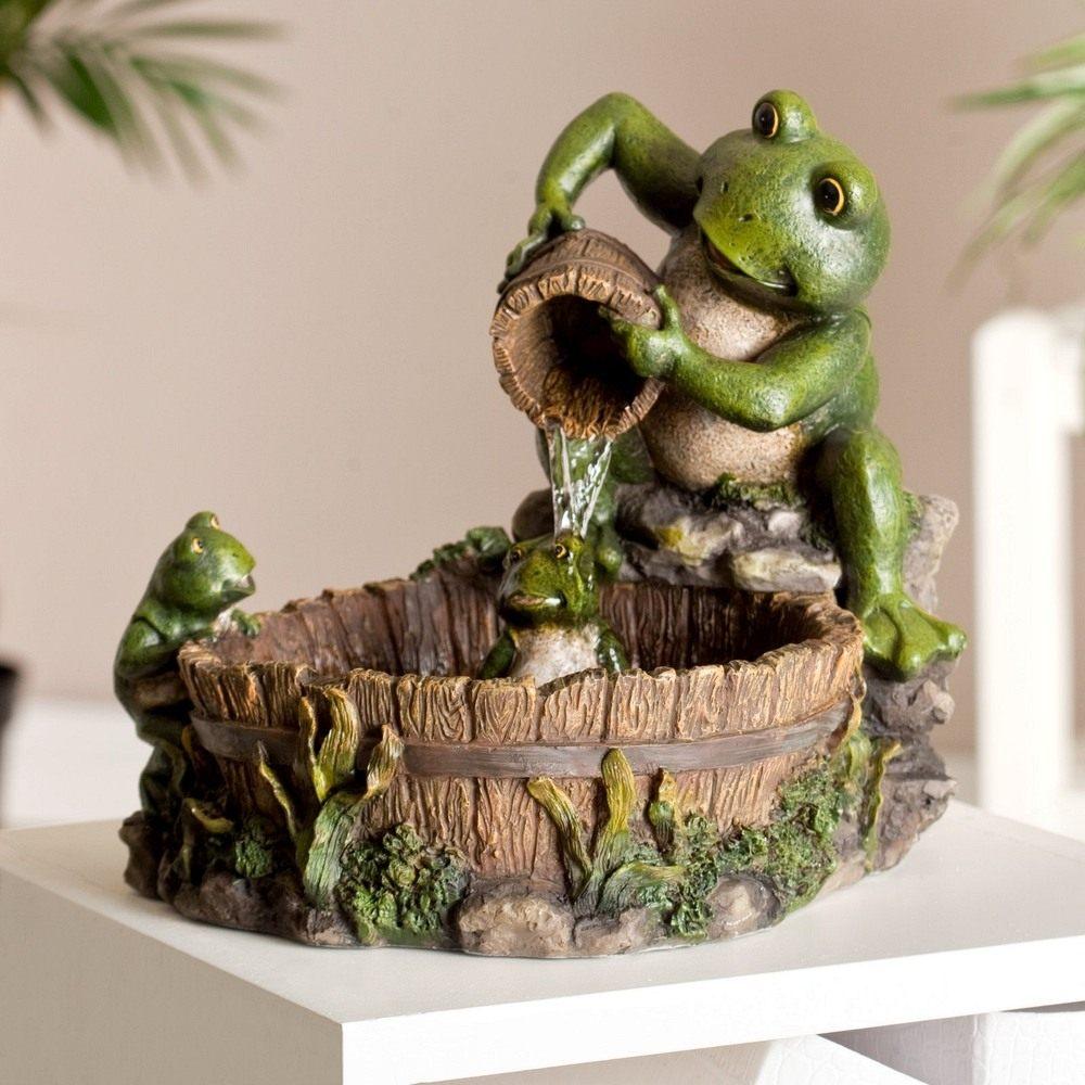 Декоративный фонтан для квартиры – необычное украшение интерьера (22 фото)