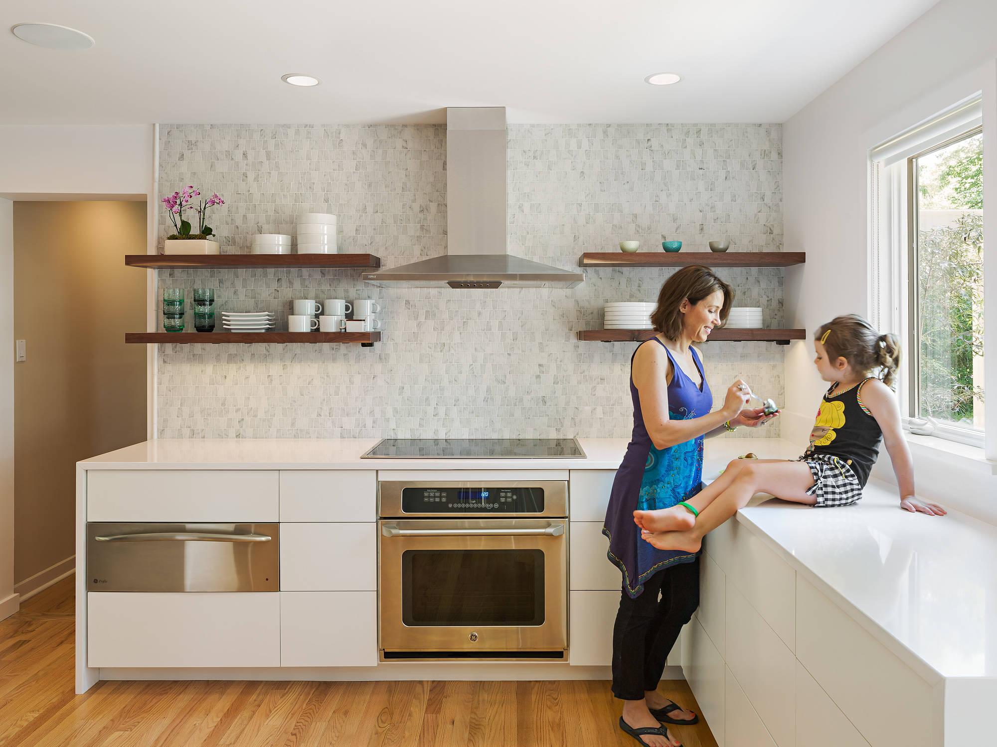 Кухня в минималистском стиле
