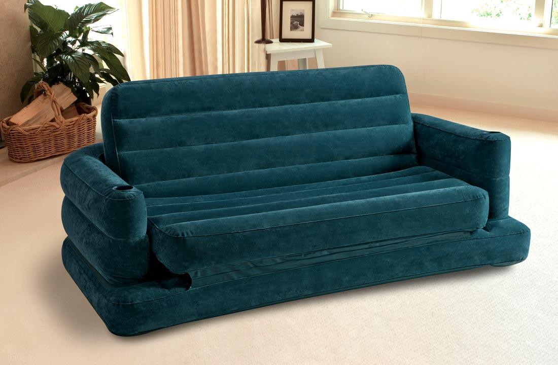 Мобильный надувной диван