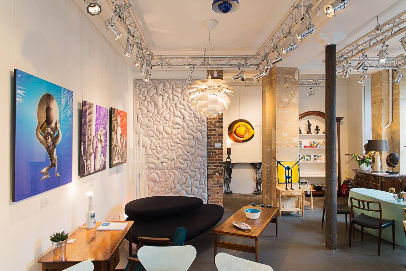 Мягкие стеновые панели в интерьере модерн