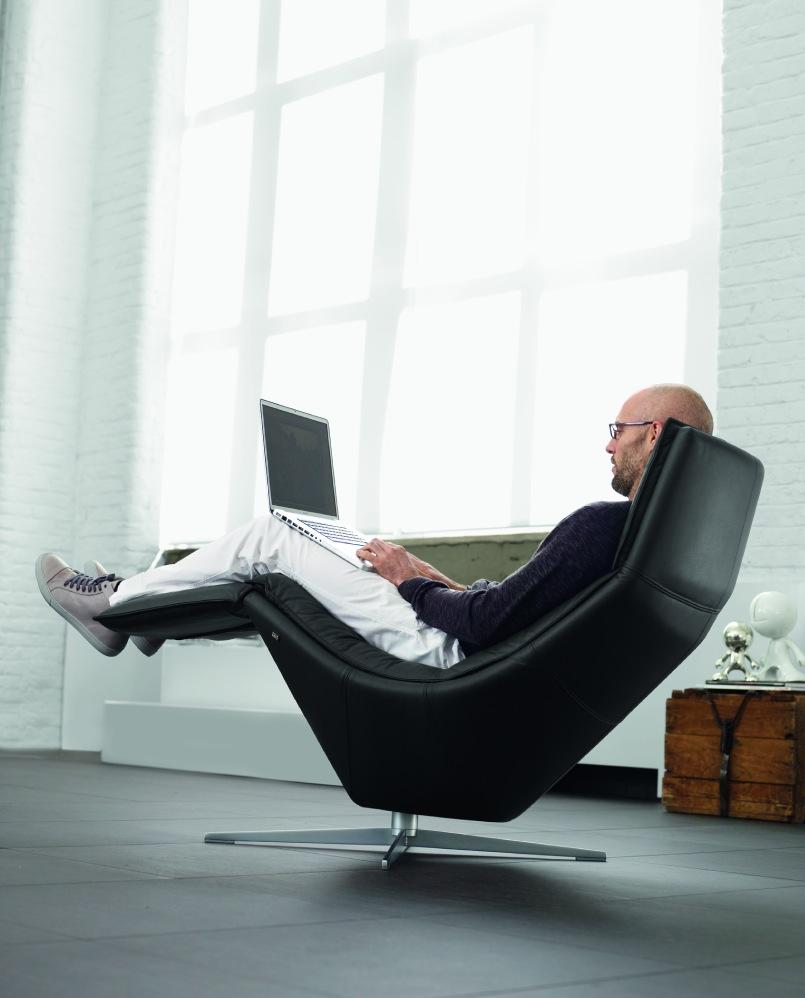 Кресло реклайнер в стиле модерн