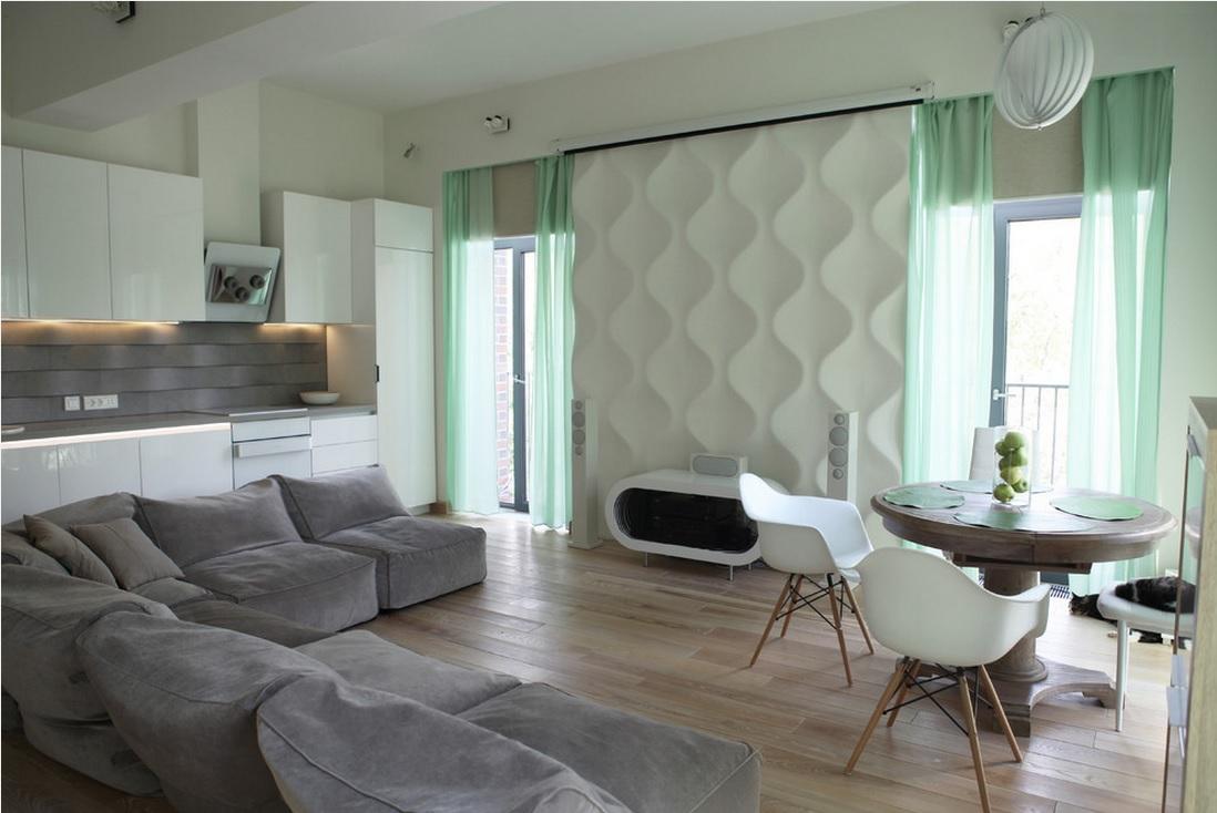 Бескаркасная мебель в стиле модерн