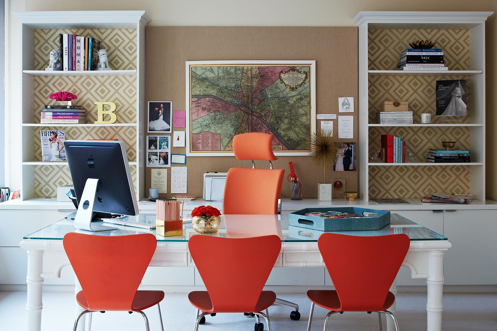 Дизайн интерьера кабинета руководителя в стиле модерн