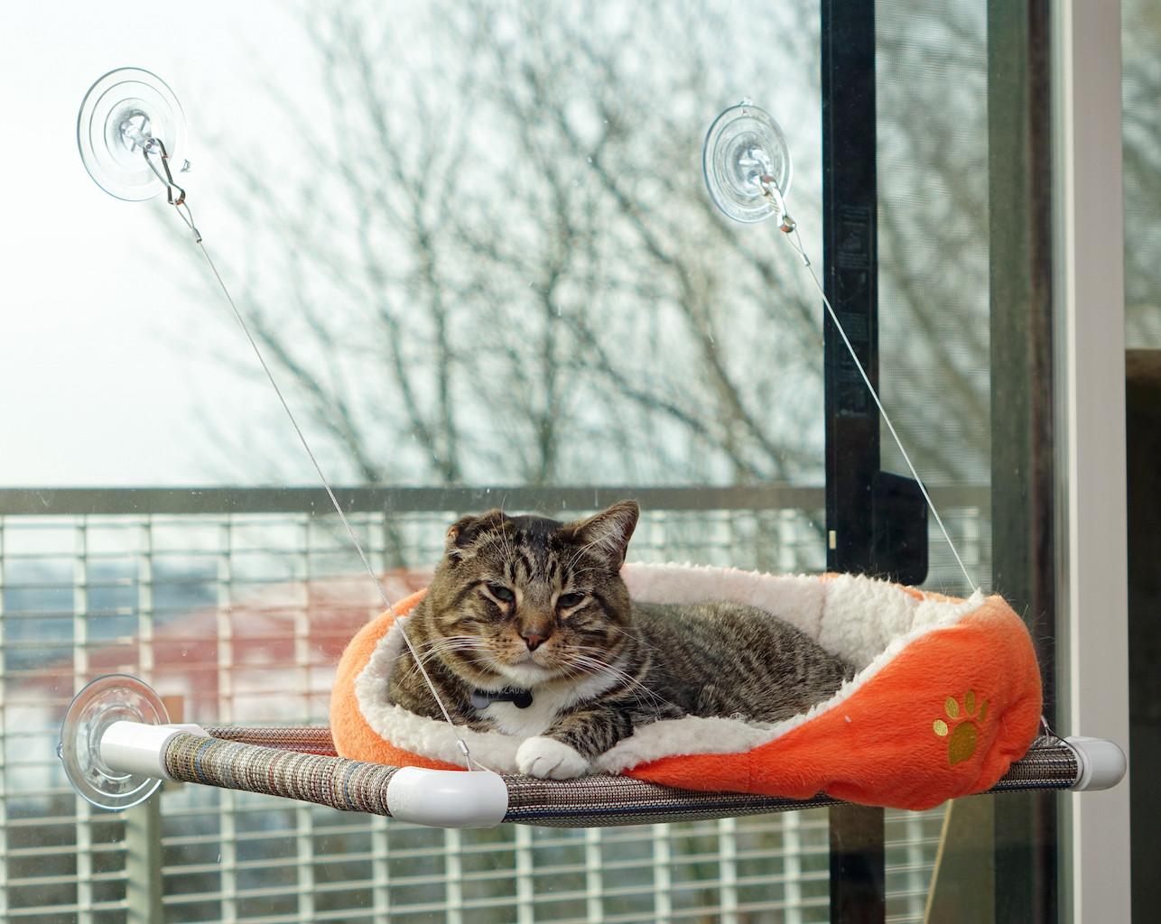 Гамак для кошки мягкий