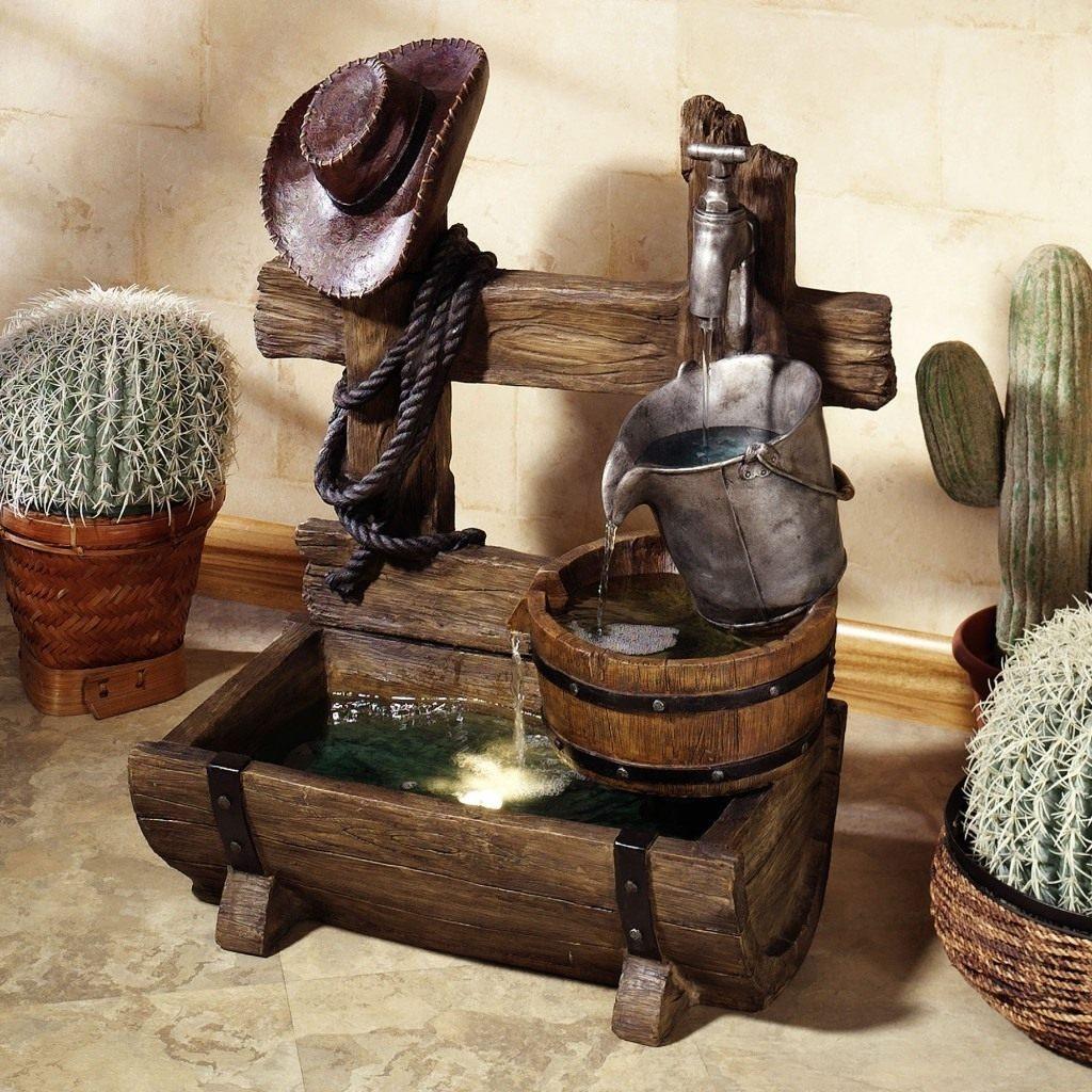 Декоративный фонтан