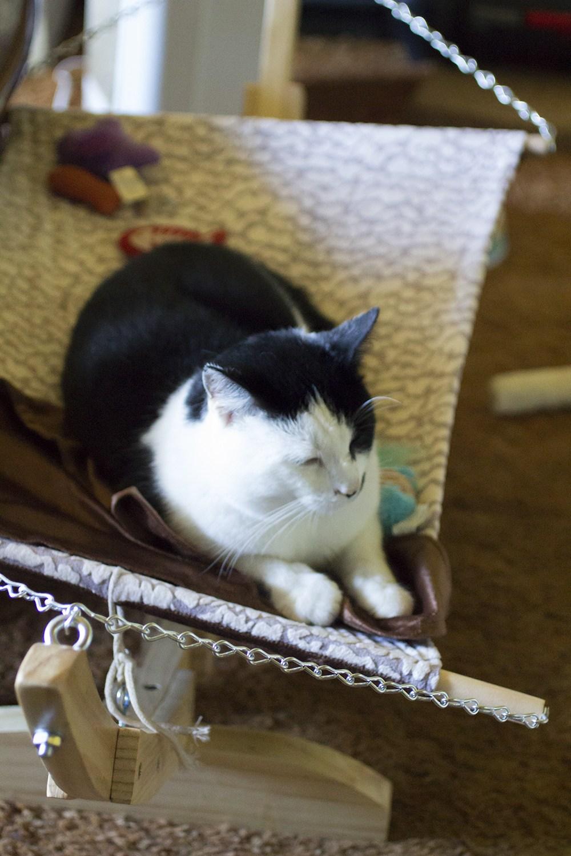 Гамак для кошки небольшой