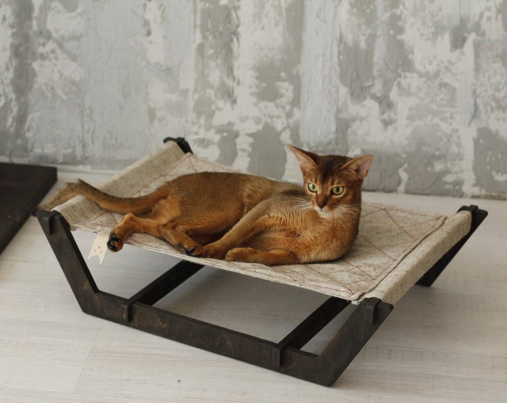 Гамак для кошки низкий