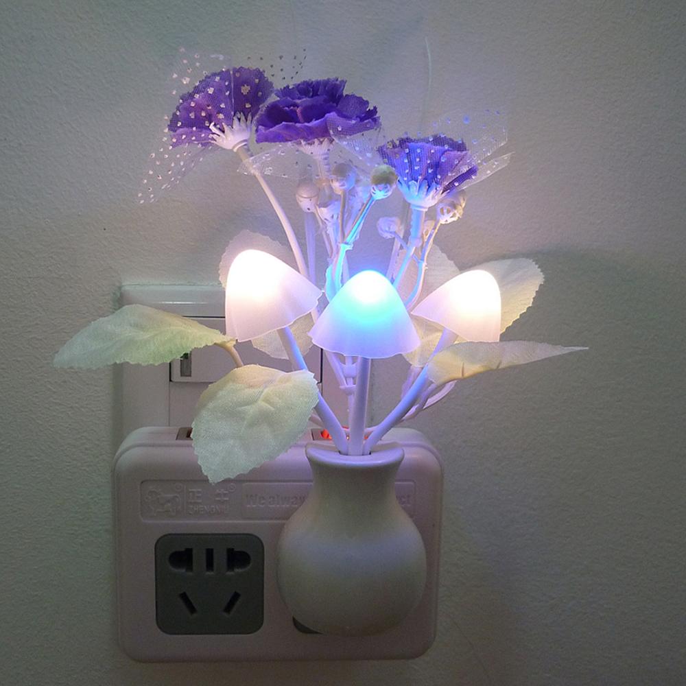 Светодиодный ночник разноцветный