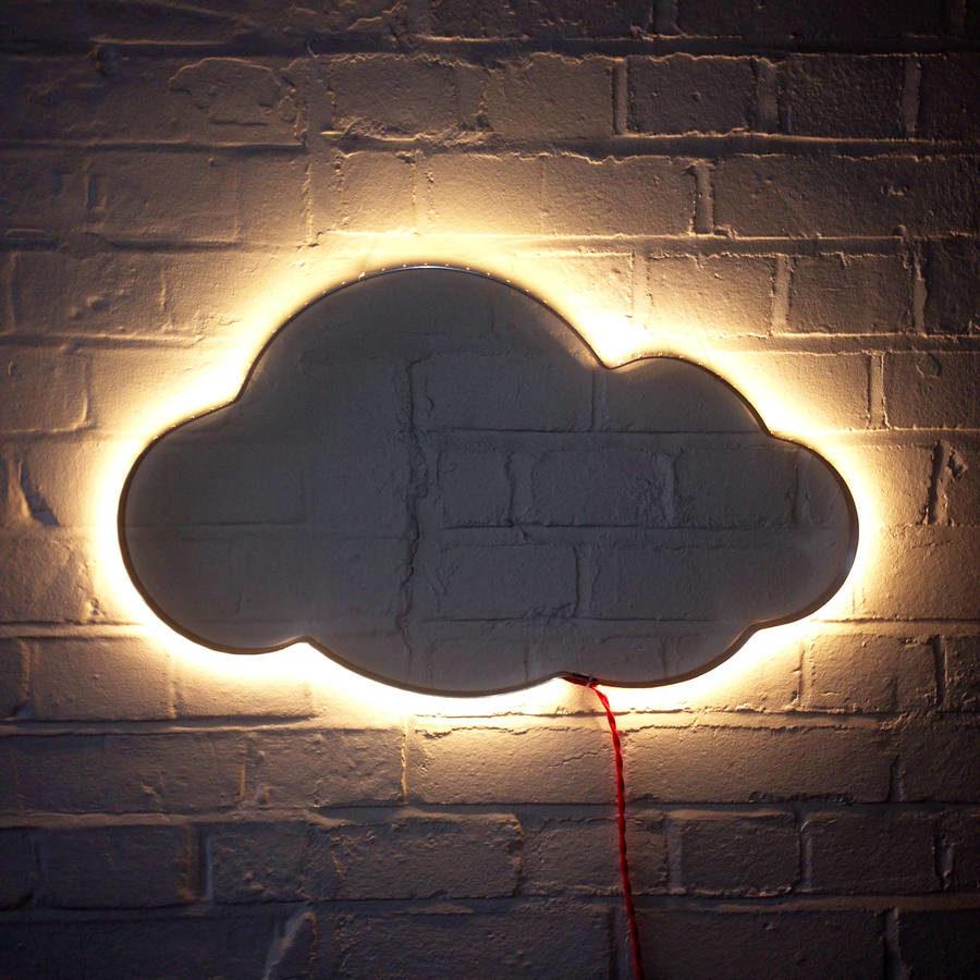 """Светодиодный ночник """"облако"""""""