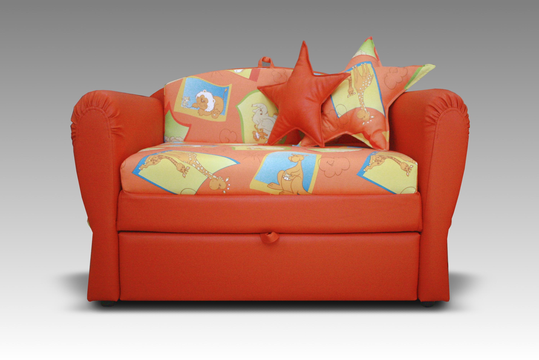 Оранжевый диван телескоп