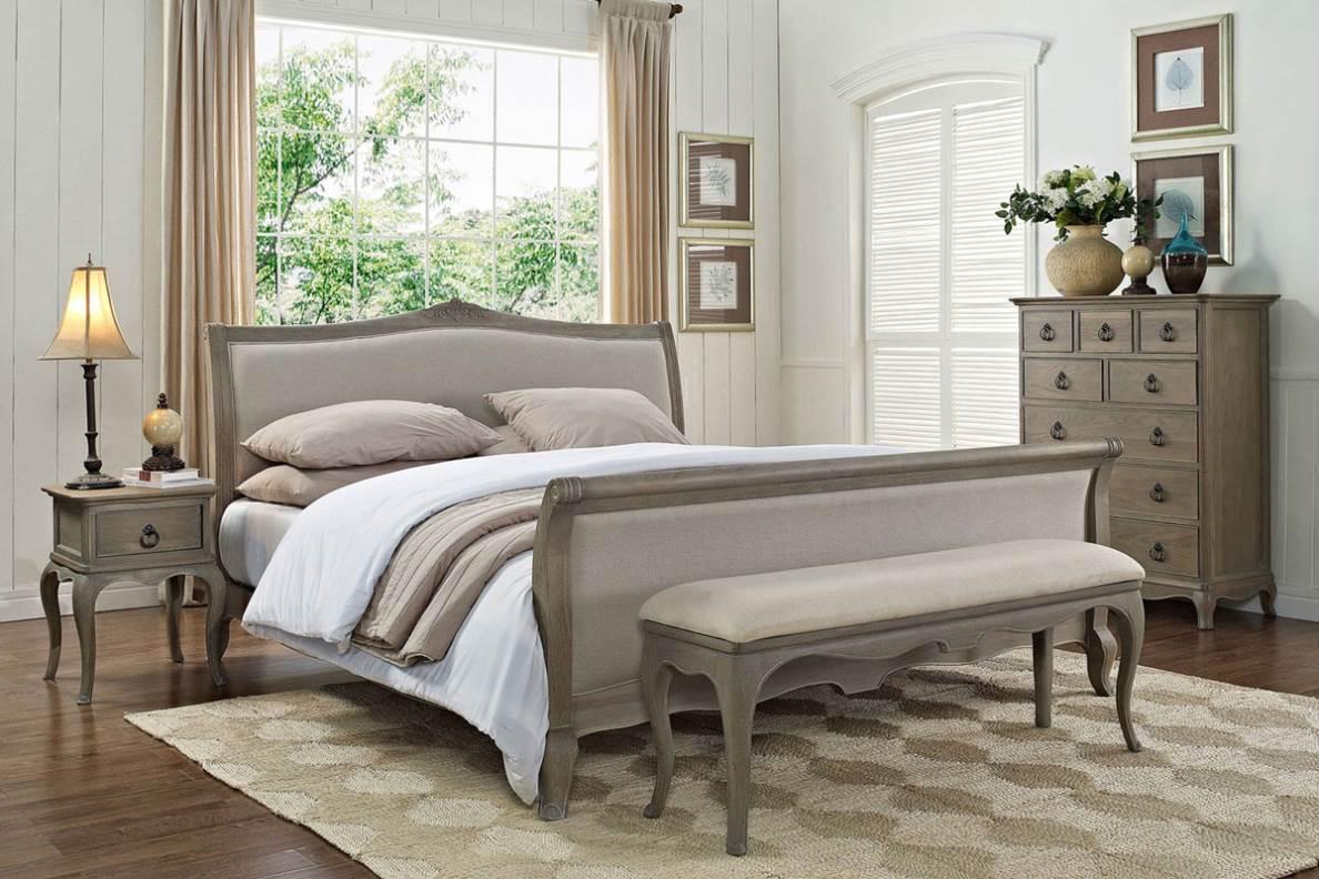 Кровать в стиле прованс
