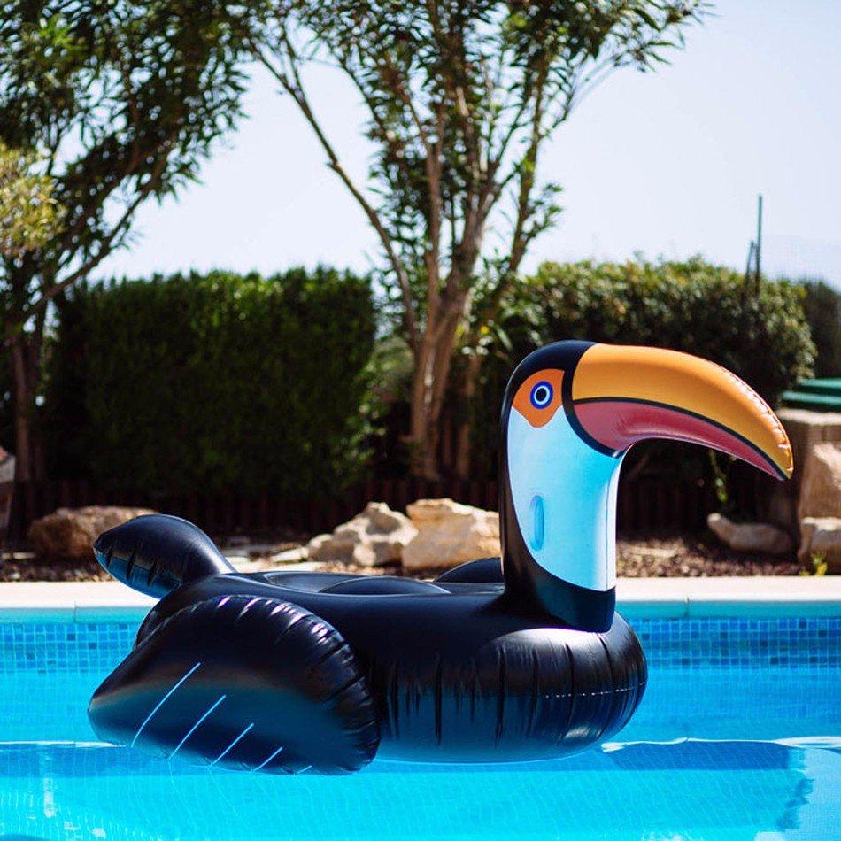 Надувной пеликан для бассейна