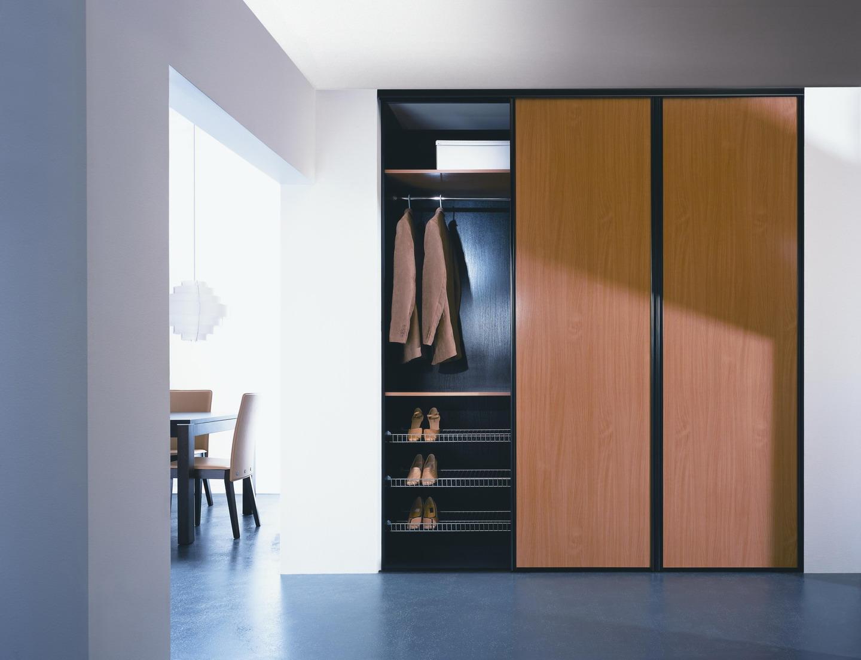 Наполнение шкафа-купе: особенности конструкции (21 фото)
